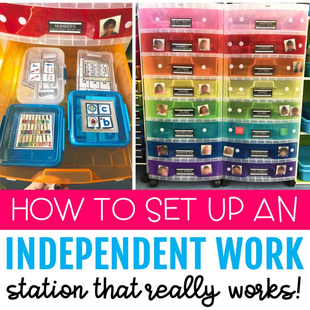 Independent Task Box Work Station
