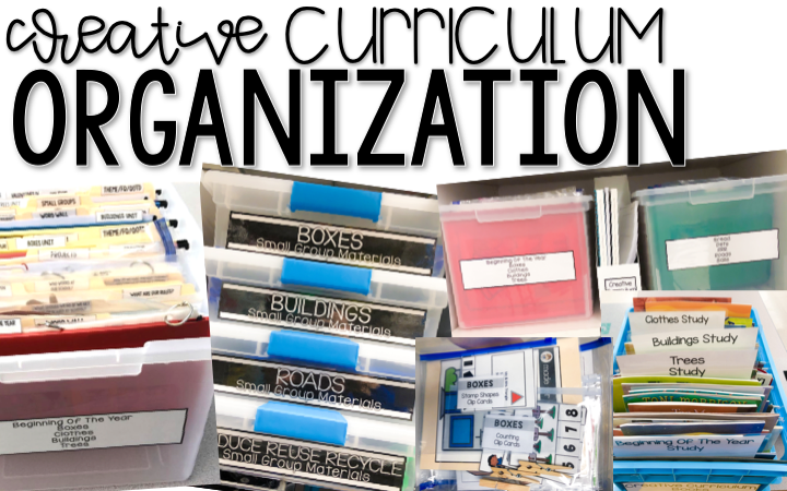 Creative Curriculum Materials Organization