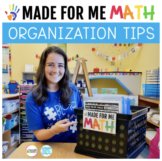 Made For Me Math Organization