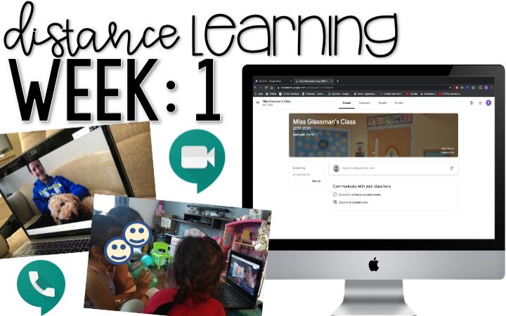 Distance Learning: Week 1