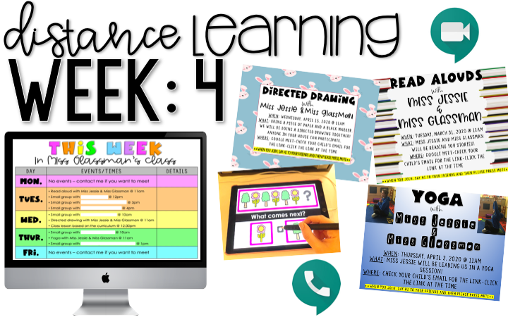 Distance Learning: Week 4