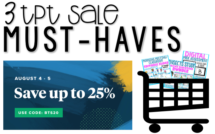 3 TPT Sale Must-Haves