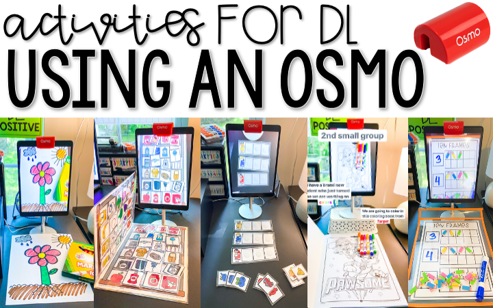 Activities For Distance Learning Using An OSMO