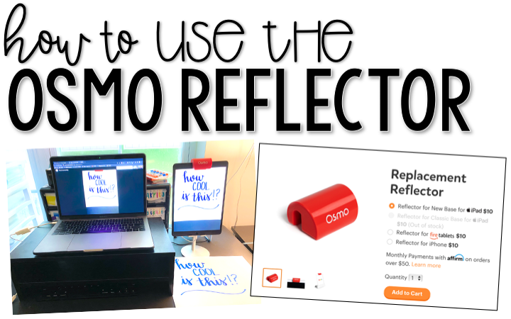 How To Use The OSMO Reflector