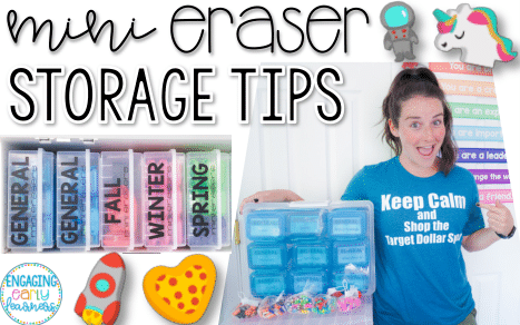 Mini Eraser Storage Tips for the Classroom