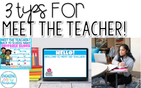 TOP 3 Tips for Back to School Night!