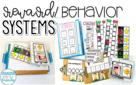 Reward/Behavior Systems in my PreK Sped Classroom